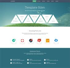 One Page Website Template Adorable One Page Website Template 28 Free Modern Single Page Website