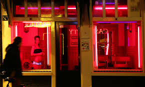 Red Light District Women Amsterdams Red Light District Could End Under Plans By New