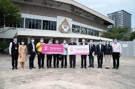 ตรวจเยี่ยมความพร้อมโรงพยาบาลสนามจุฬาฯ - สภากาชาดไทย