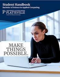 Interior Design Student Handbook Uw Platteville Applied Computing Student Handbook Page 1