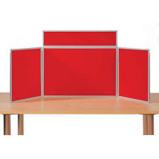 table display stands. pinnable tabletop folding display boards (landscape) table stands c