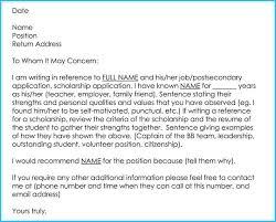 Letter Of Recommendation Teacher Writing A Reference Letter For Teacher 6 Sample Letters