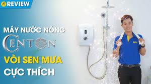 Máy nước nóng Centon: Cảm biến tự ngắt, vòi sen mưa sang trọng (GD600ESP RS  FL) • Điện máy XANH - YouTube