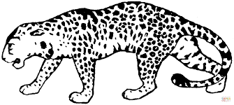 Small Picture Leopard 17 coloring page Free Printable Coloring Pages