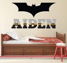 Batman Wand Aufkleber Benutzerdefinierten Namen Wandtattoo Etsy