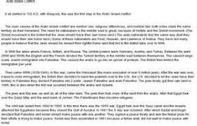 arab i conflict essay examples persuasive essay edu essay arab i conflict essay examples