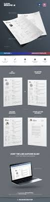 Clean Resume Vol 3 Resume Cv Creative Resume Templates And Cover