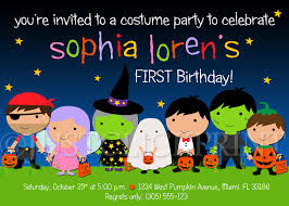 costume party invites kids costume halloween birthday party invitation printable just