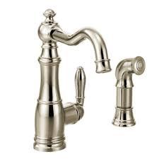 Moen Aberdeen Kitchen Faucet Moen Aberdeen Single Handle Pull Down Sprayer Kitchen Faucet With