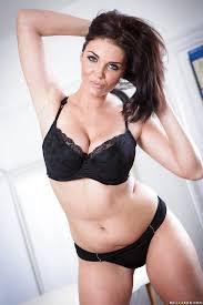 Black lingerie porn star