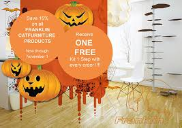 halloween sale flyer halloween sale at franklin cat furniture hauspanther