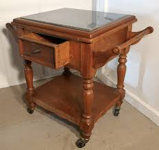 Heavy Pine Pastry Makers Table Industrial Kitchen Island Trb41