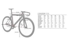 Leader 725 Frame I805 Fork Seafoam Green