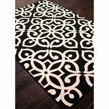 polypropylene area rugs indoor outdoor geometric pattern black taupe tan rug waterproof