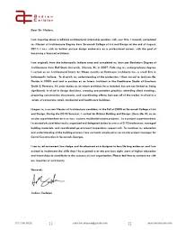 Cover Letter Resume By Andrew Carleton Issuu