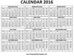 free printable 12 month calendar 2016 calendar 12 months calendar on one page free printable calendar