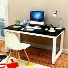 yaheetech modern simple design home office desk