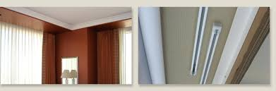 ceiling mounted curtain track system flexible canada uk