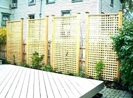 privacy outdoor screen panels add outdoors with easy up screens wood plans