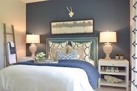 simple guest bedroom. Simple Guest Room Tips Aqua Navy Bedroom Kravet Riad Pillows And Curtains-11