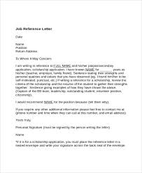 7 job reference letter templates