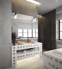 Home Designs: Bathroom With Industrial Theme - Industrial