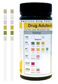 Healgen Specimen Validity Adulteration Test Strips Svt 6 Panel 25 Bottle