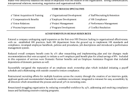 Entry Level Human Resources Resume Objective Humanurces Resume Objective Examples Hr Recruiter Summary Sample 71