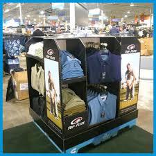 T Shirt Display Stand tshirt cardboard displayunderwear display standunderwear 90