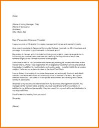 Cover Letter For Management 10 Sample Cover Letters For Managers Cover Letter
