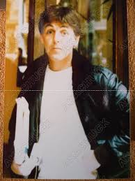 during the broadstreet years paul mccartney was often seen wearing a leather jacket but obviously the mega veggie paul that you and i adore would not