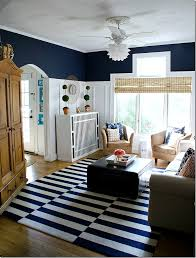 COLOR TREND  BLACK WHITE GOLD VS NAVY WHITE GOLD U2014 Classy Glam Navy And White Living Room