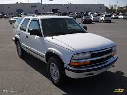 1999 Summit White Chevrolet Blazer LS 4x4 #47157842 Photo #5 ...