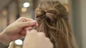 髪でリボン作り方 美容室flavia Youtube