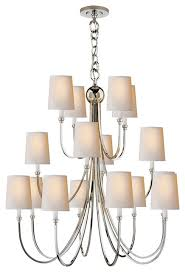 thomas o brien reed 16 light chandelier