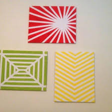 painters tape designs ideas easy wall art with just canvas masking tape and  paint crafting easy
