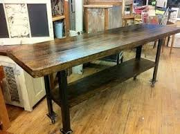 beautiful long table of old wood and metal i have such an attraction to metal combined with wood for furniture these days beautiful combination wood metal furniture