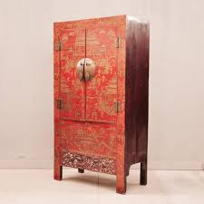 red lacquered furniture. Chinese Red Lacquer Cabinet Grande Antique Furniture Armoire Wardrobe Carved Farmhouse Design Dresser Craft Lacquered Kitchen Doors Kids Small Rustic