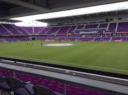 Exploria Stadium Section 32 Home Of Orlando City Sc