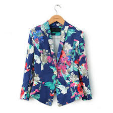 Patterned Blazer Womens Extraordinary Floral Print Blazers Canada Best Selling Floral Print Blazers From