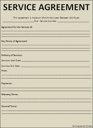 7 Best Images Of Professional Services Agreement Form Free - Free ...