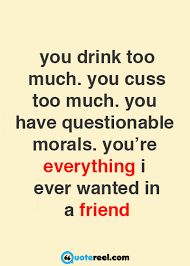 Funny Friendship Quotes Delectable Funny Friends Quotes To Send Your BFF Text Image Quotes QuoteReel