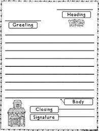 Friendly Letter Format First Grade | Naturerenewcleanses.net