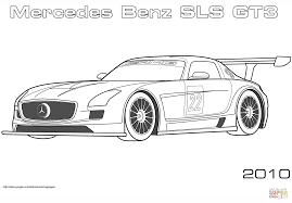 Coloriage De Mercedes Sport L