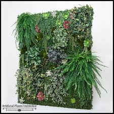 click to enlarge on artificial forest fern green wall foliage with green wall artificial arrangement artificial plants unlimited