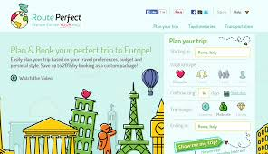 Routeperfect A Cool New Trip Planning Website For Europe