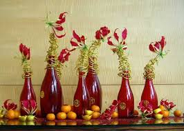 We could all use more luck in our lives. Chinese New Year Decorations Flower Arrangements And Paper Crafts