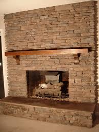 stone fireplace mantel shelf home design ideas