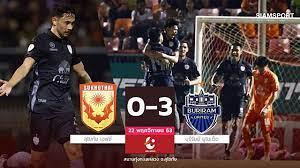 ไฮไลท์ฟุตบอลไทยลีก สุโขทัย เอฟซี vs บุรีรัมย์ ยูไนเต็ด
