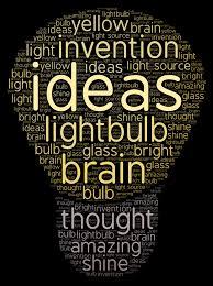 Light Bulb Word Art Light Bulb Wordart Com